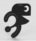 PacDam - Plexiglass Matte black
